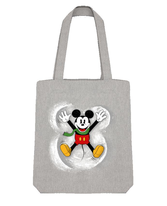 Tote Bag Stanley Stella Mickey in snow by Florent Bodart