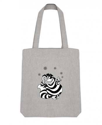 Tote Bag Stanley Stella Cheshire cat by tattooanshort