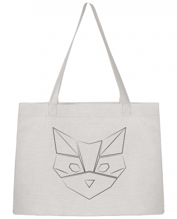 Shopping tote bag Stanley Stella Logo chat by Claire