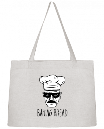 Shopping tote bag Stanley Stella Baking bread by Nick cocozza