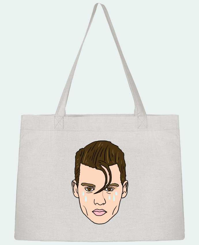 Shopping tote bag Stanley Stella Cry baby by Nick cocozza
