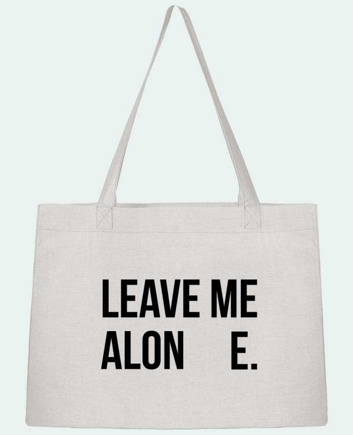 Shopping tote bag Stanley Stella Leave me alone. by tunetoo