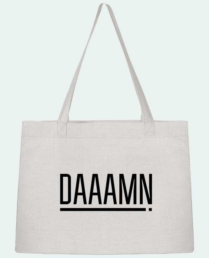Shopping tote bag Stanley Stella Daaamn ! by tunetoo