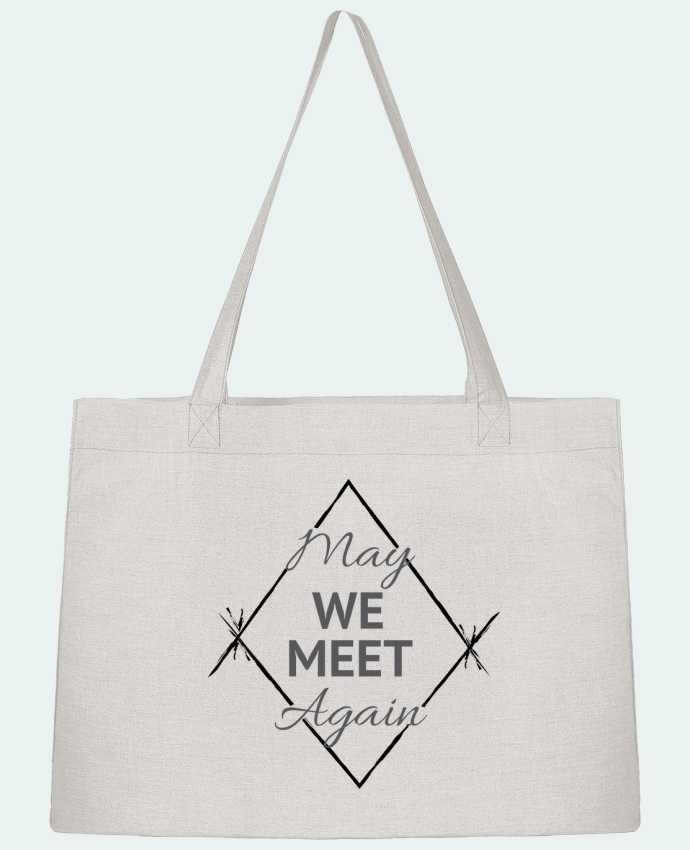 Shopping tote bag Stanley Stella May We Meet Again by CycieAndThings