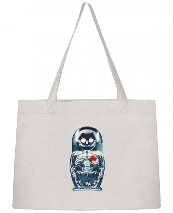 Shopping tote bag Stanley Stella Nesting doll by ali_gulec