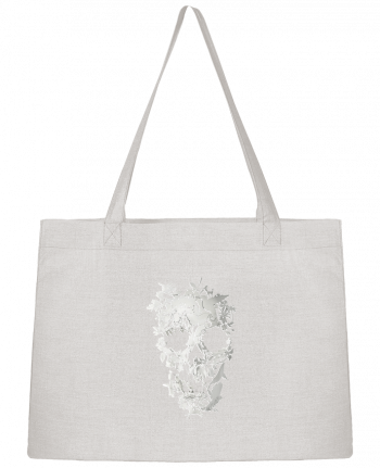Shopping tote bag Stanley Stella Simple Skull by ali_gulec