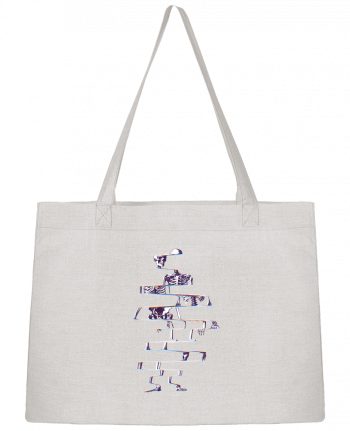 Shopping tote bag Stanley Stella Skeleton by ali_gulec