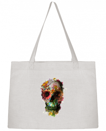 Shopping tote bag Stanley Stella Skull 2 by ali_gulec