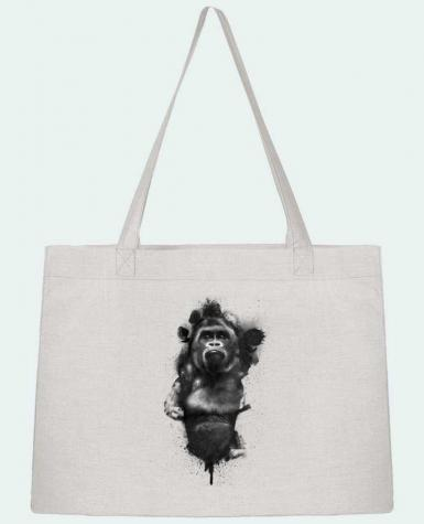 Shopping tote bag Stanley Stella Gorille by WZKdesign
