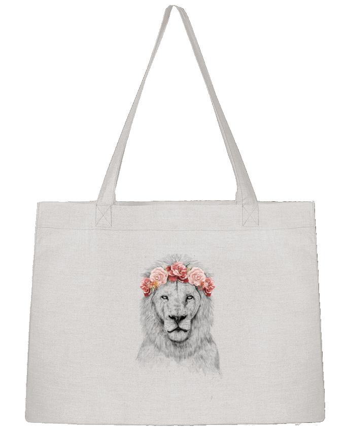 Shopping tote bag Stanley Stella Festival Lion by Balàzs Solti
