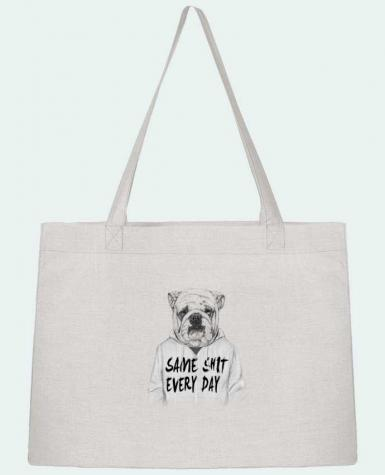Shopping tote bag Stanley Stella Same shit every day by Balàzs Solti