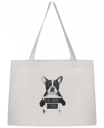 Shopping tote bag Stanley Stella Being normal is boring by Balàzs Solti