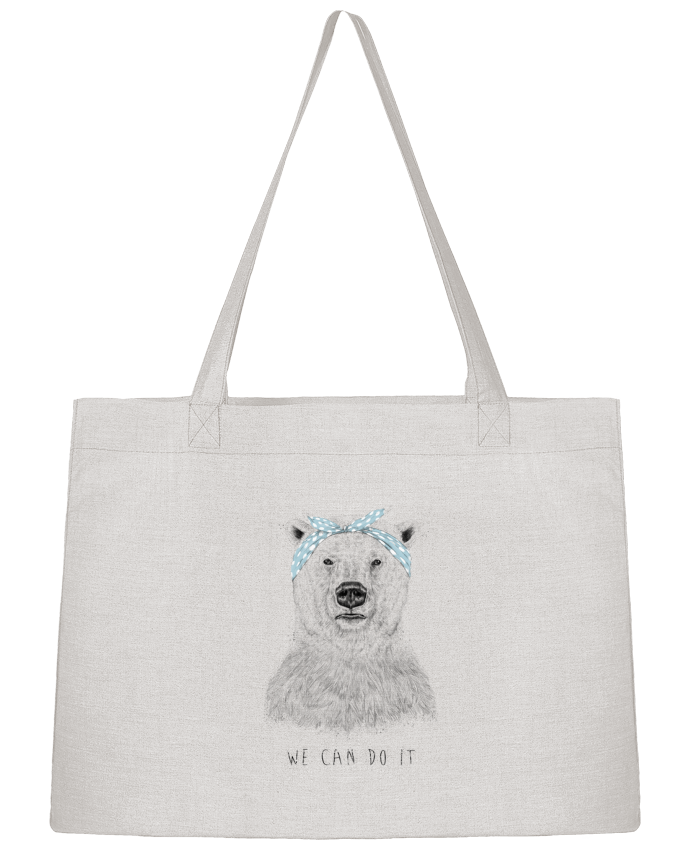 Shopping tote bag Stanley Stella we_can_do_it by Balàzs Solti