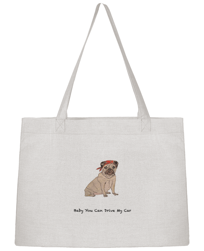 Shopping tote bag Stanley Stella BABY YOU CAN DRIVE MY CAR by La Paloma