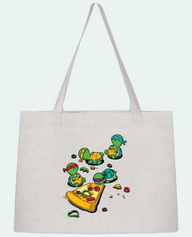 Shopping tote bag Stanley Stella Pizza lover by flyingmouse365