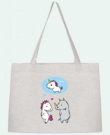 Shopping tote bag Stanley Stella Perfect match by flyingmouse365