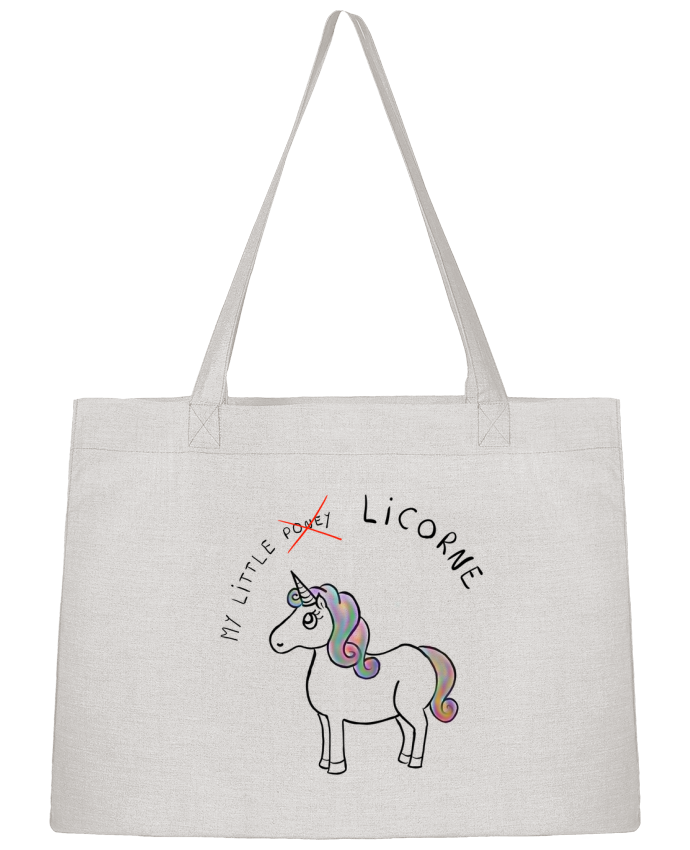 Shopping tote bag Stanley Stella Licorne by Sacha