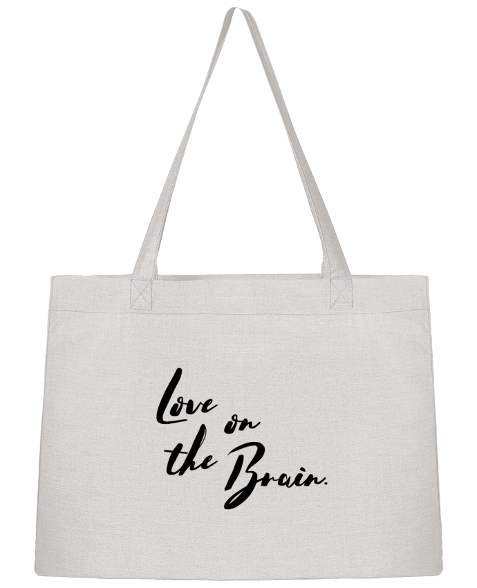Shopping tote bag Stanley Stella Love on the brain by tunetoo