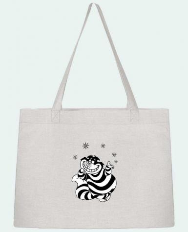 Shopping tote bag Stanley Stella Cheshire cat by tattooanshort