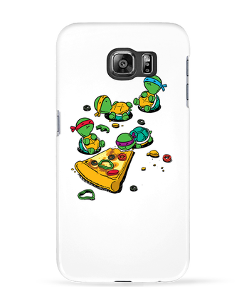 Case 3D Samsung Galaxy S6 Pizza lover - flyingmouse365