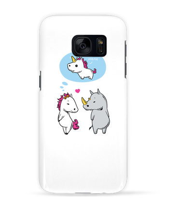 Case 3D Samsung Galaxy S7 Perfect match by flyingmouse365