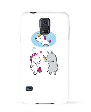 Case 3D Samsung Galaxy S5 Perfect match by flyingmouse365