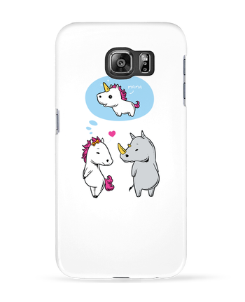 Case 3D Samsung Galaxy S6 Perfect match - flyingmouse365