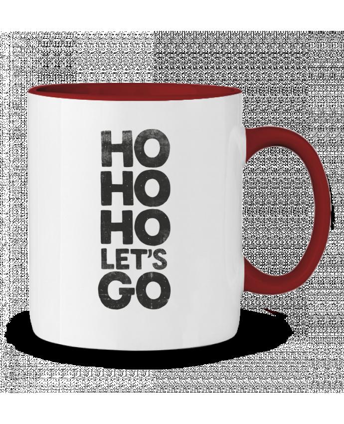 Two-tone Ceramic Mug Let's Go Morozinka