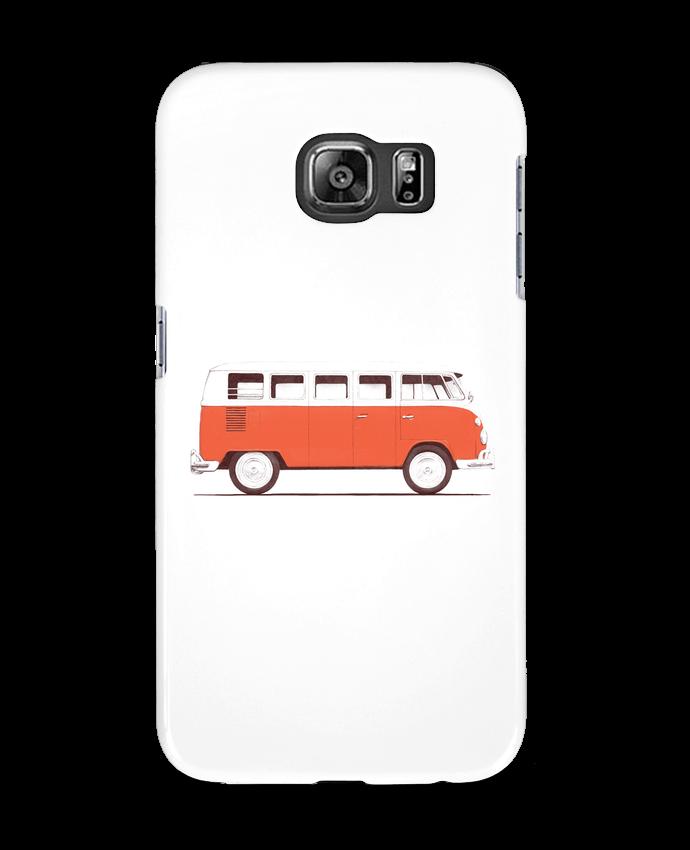 Case 3D Samsung Galaxy S6 Red Van - Florent Bodart