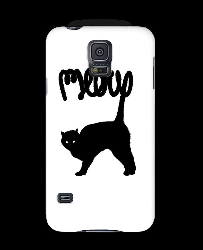 Case 3D Samsung Galaxy S5 Meow by Florent Bodart