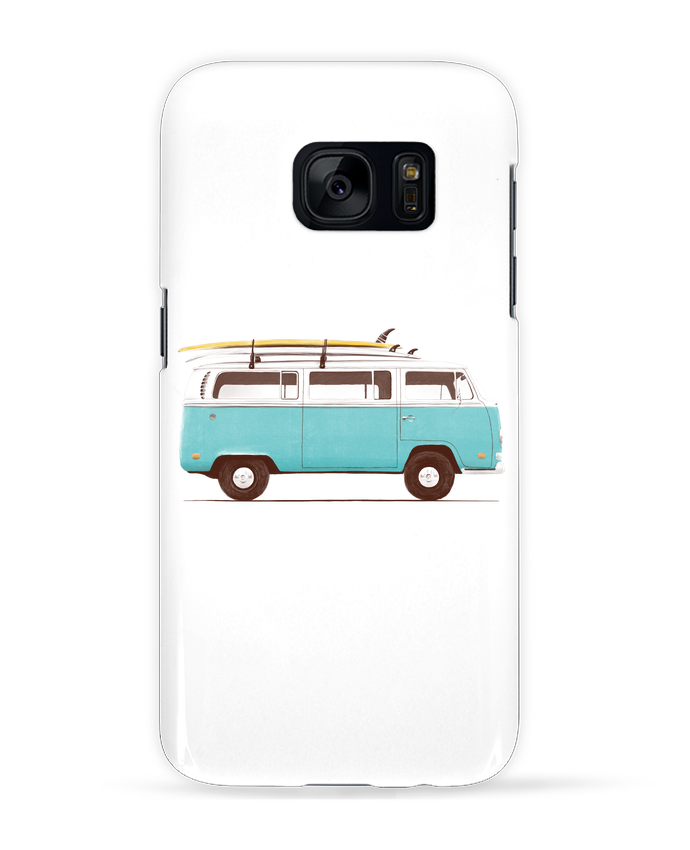 Case 3D Samsung Galaxy S7 Blue van by Florent Bodart