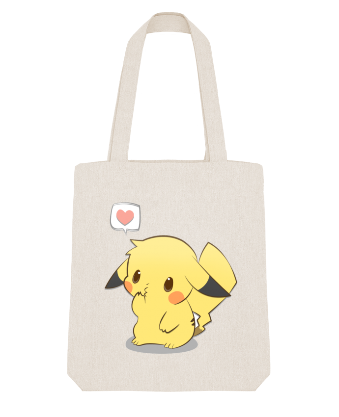 Tote Bag Stanley Stella Pikachu Love by Ketsøu