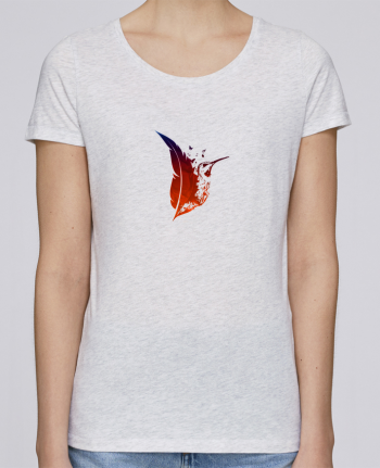 T-shirt Women Stella Loves plume colibri by Studiolupi