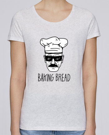 T-shirt Women Stella Loves Baking bread by Nick cocozza