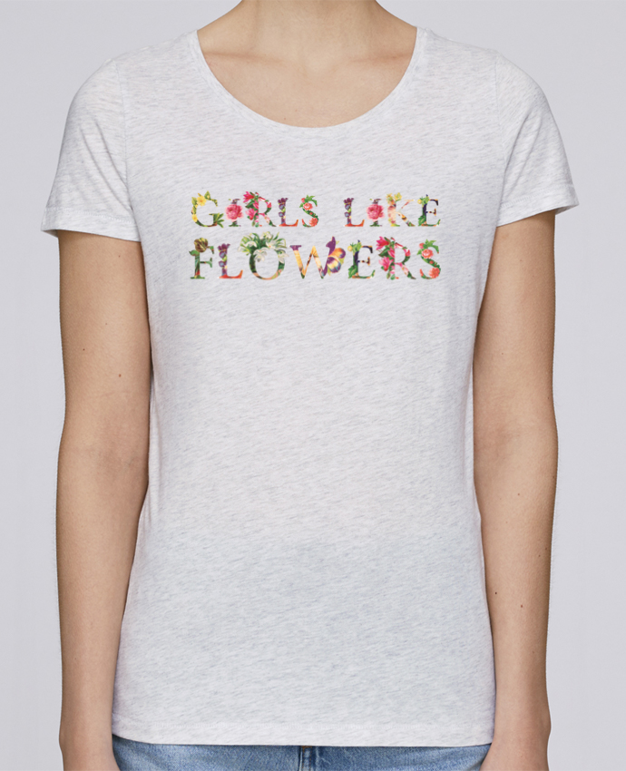 T-shirt Women Stella Loves Girls like flowers by tunetoo