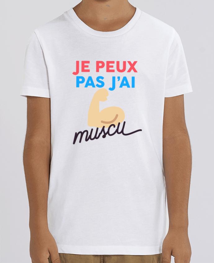 Kids T-shirt Mini Creator je peux pas j'ai muscu Par Ruuud