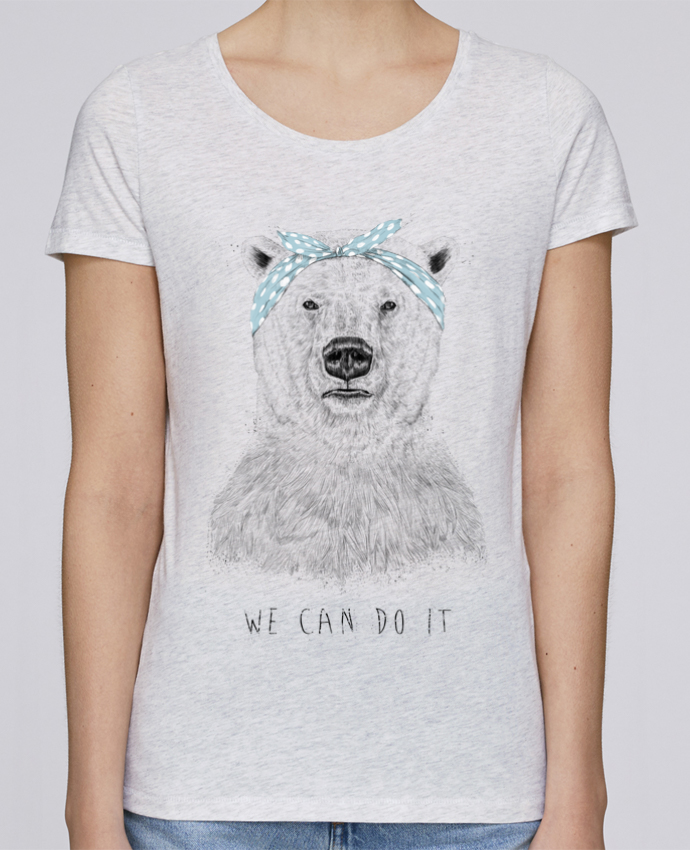 T-shirt Women Stella Loves we_can_do_it by Balàzs Solti