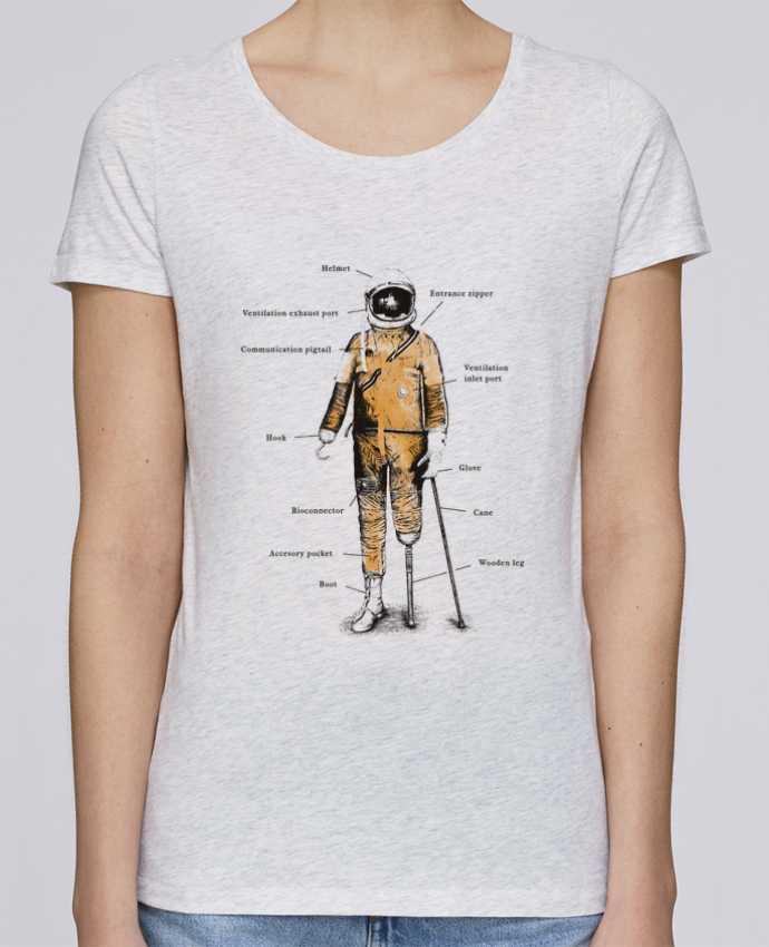 T-shirt Women Stella Loves Astropirate with text by Florent Bodart