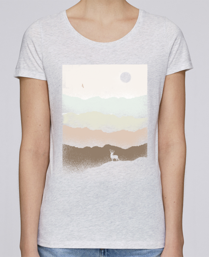 T-shirt Women Stella Loves Quietude by Florent Bodart