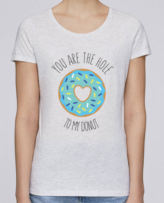 T-shirt Women Stella Loves Donut coeur by tunetoo