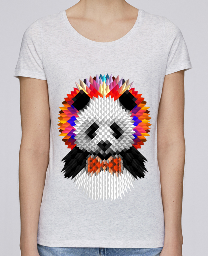 T-shirt Women Stella Loves Panda by ali_gulec