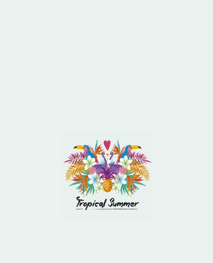 Tote Bag cotton Tropical Summer by IDÉ'IN
