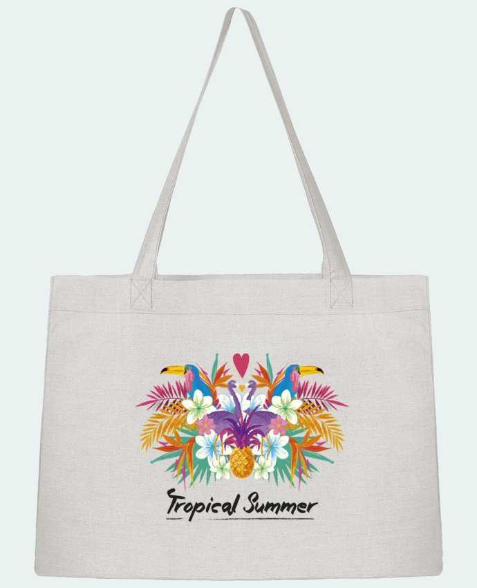 Shopping tote bag Stanley Stella Tropical Summer by IDÉ