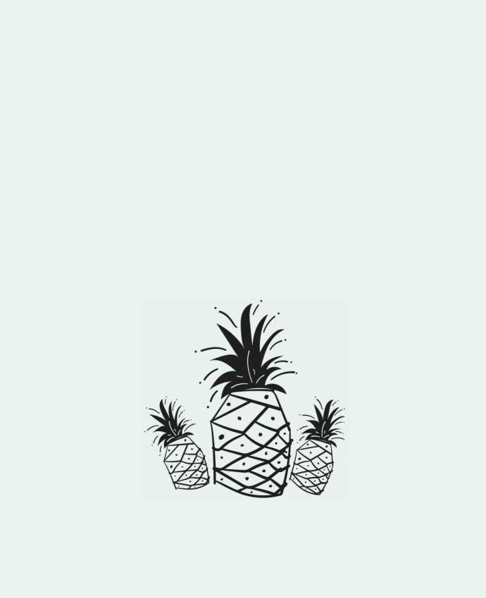 Tote Bag cotton CRAZY PINEAPPLE by IDÉ'IN