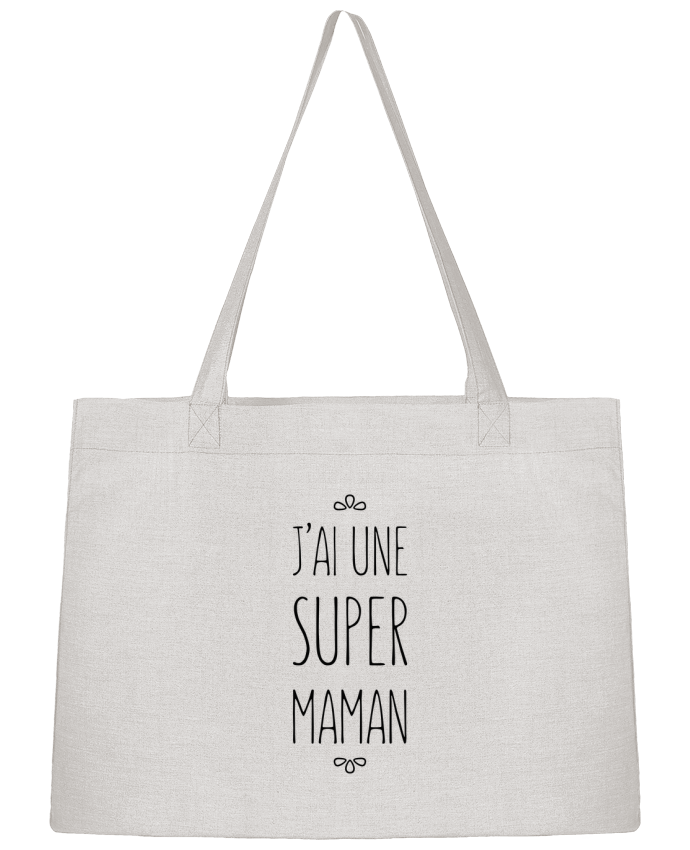 Shopping tote bag Stanley Stella J'ai une super maman by tunetoo