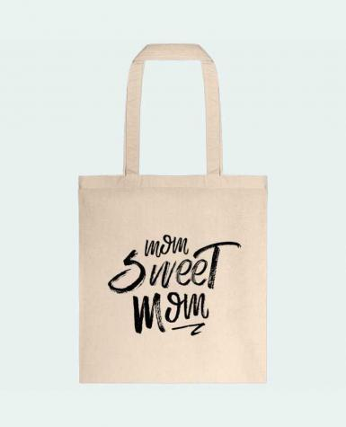 Tote Bag cotton Mom sweet mom by tunetoo