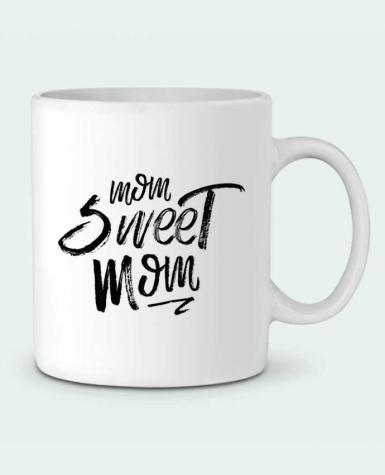 Ceramic Mug Mom sweet mom by tunetoo