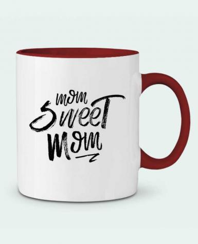 Two-tone Ceramic Mug Mom sweet mom tunetoo