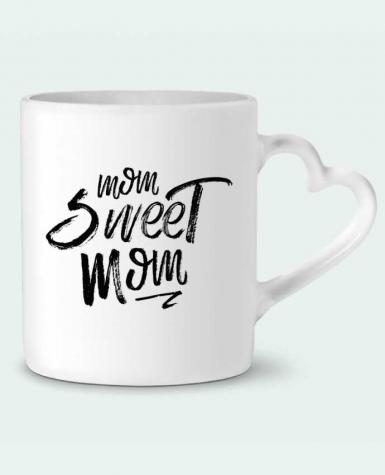 Mug Heart Mom sweet mom by tunetoo